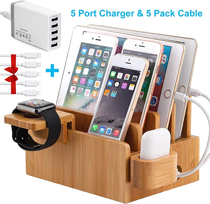 Top 10 Bamboo Apple Watch Stand