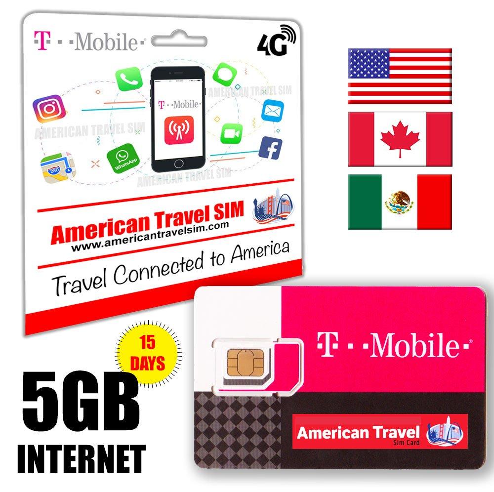 Tarjeta SIM Prepago USA, Canada & Méjico: Amazon.es: Electrónica