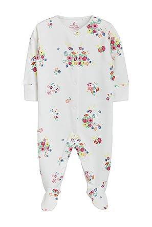 c3bfd814b3294 Next Bébé Fille Lot 5 Dors-Bien Multicolores À Motif Floral Brillant 1.5-2