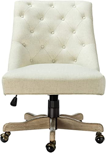 Jovita Tufted Upholstered Task Chair Without Arm