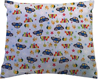 product image for SheetWorld Twin Pillow Case, 100% Cotton Woven 20 x 26, Cars & Dogs, Made in USA
