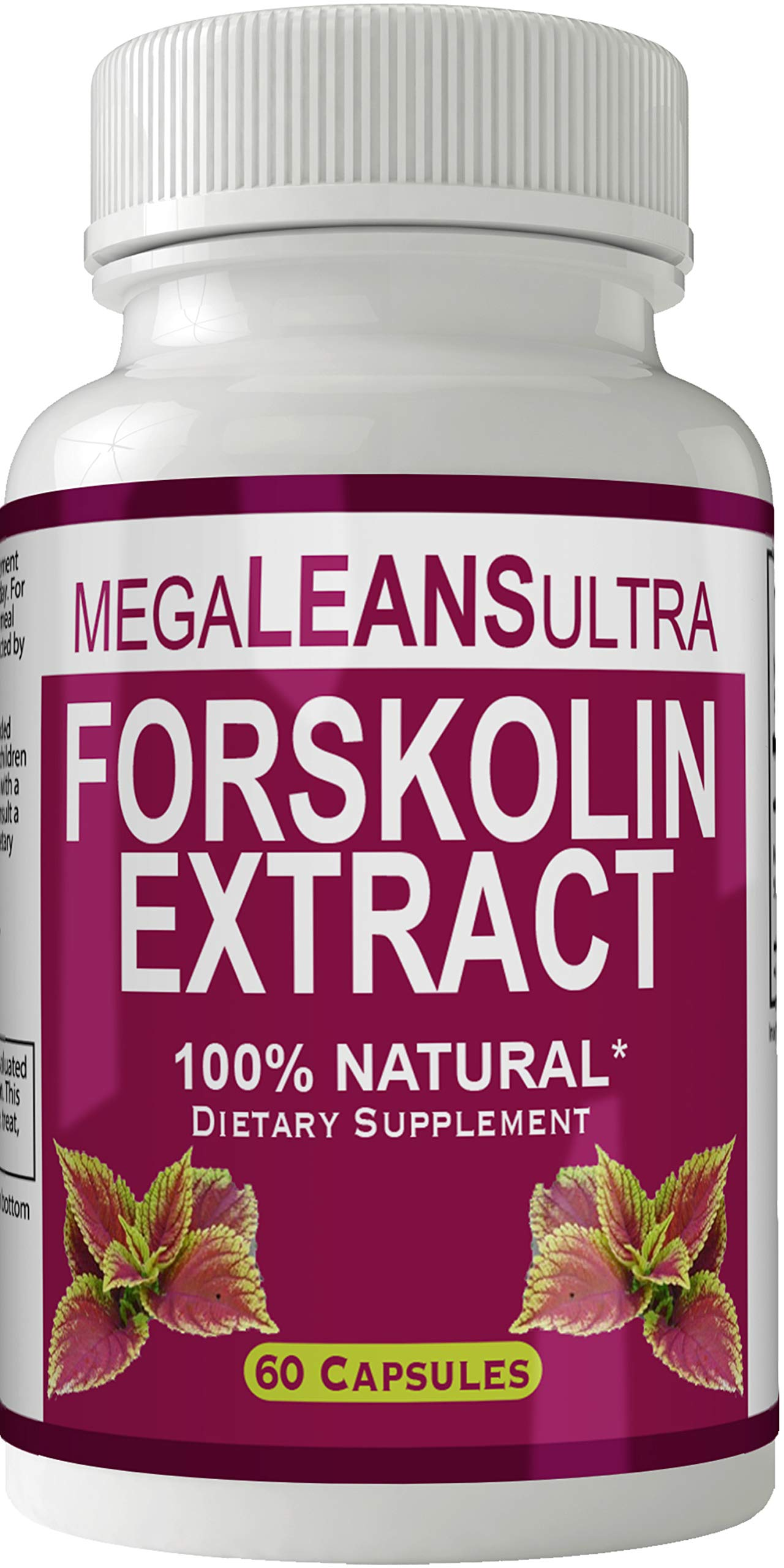 Megaleans Forskolin for Weight Loss Pills, Mega Leans Ultra Forskolin Extract Formula Tablets, High Quality Natural Megalean Diet Pill