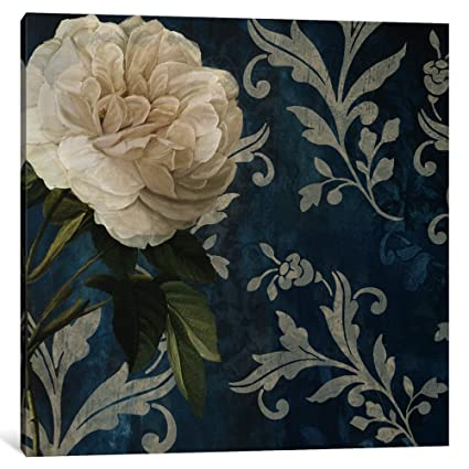 Amazon icanvasart 1 piece anastasia white flower canvas print icanvasart 1 piece anastasia white flower canvas print by color bakery 075 x mightylinksfo