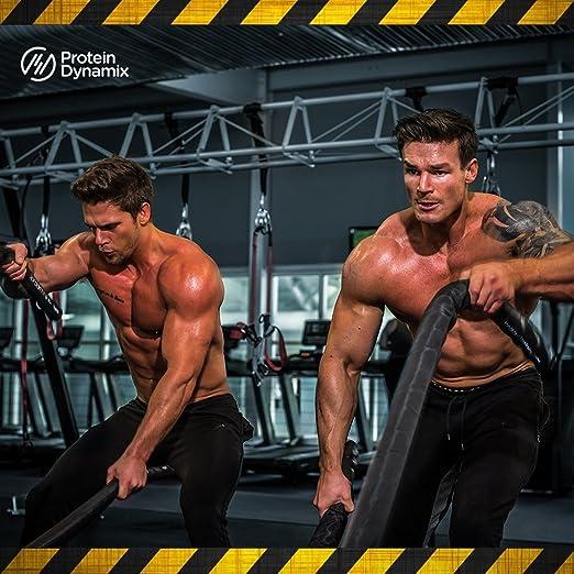 Protein Dynamix Dynamo Explosive, fórmula en polvo para antes de hacer ejercicio, para una concentración mental máxima y una congestión muscular ...