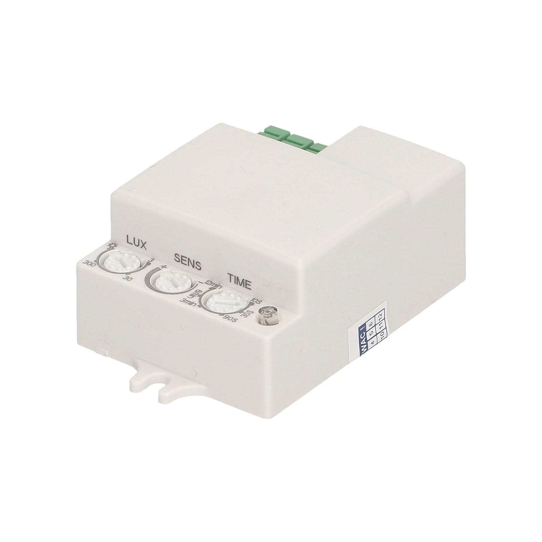 Orno Plano Microondas de Detector de Movimiento Mini, IP20 a, 1 ...