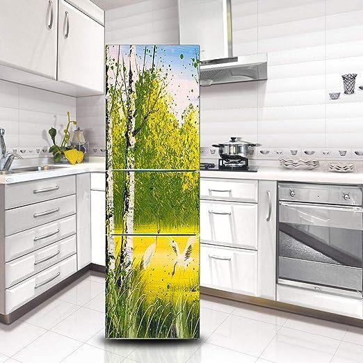 BOBOLAN Pegatina Nevera Creatividad Refrigerador Decoración ...