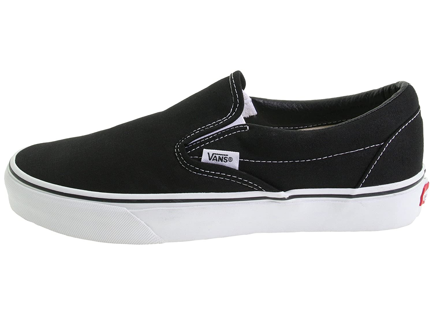 Vans Unisex Classic (Checkerboard) Slip-On Skate Shoe B075B54L4T 12.5 B(M) US Women / 11 D(M) US Men|Classic Black/White