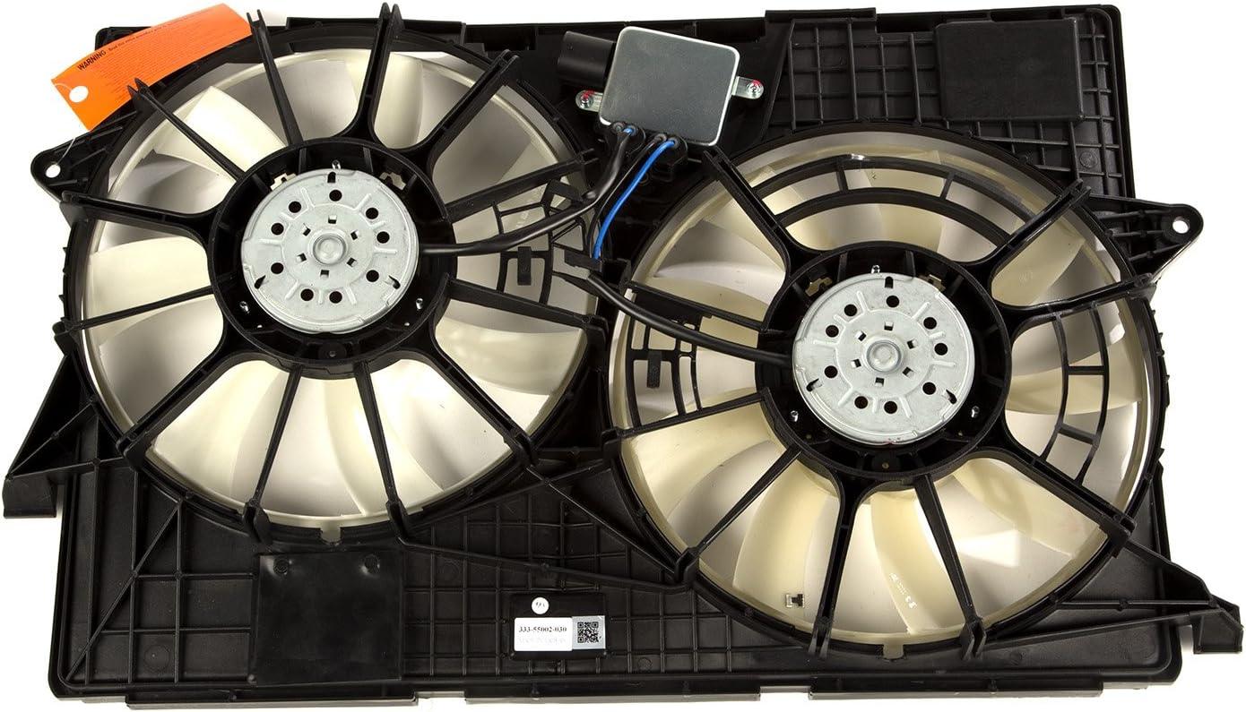 Omix-ADA 17102.64 Fan Assembly (for 2014-2018 Jeep Cherokee KL, 2.4L/3.2L)