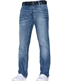 Demon&Hunter 809 Loose Fit Series Hombre Pantalones Vaqueros ...