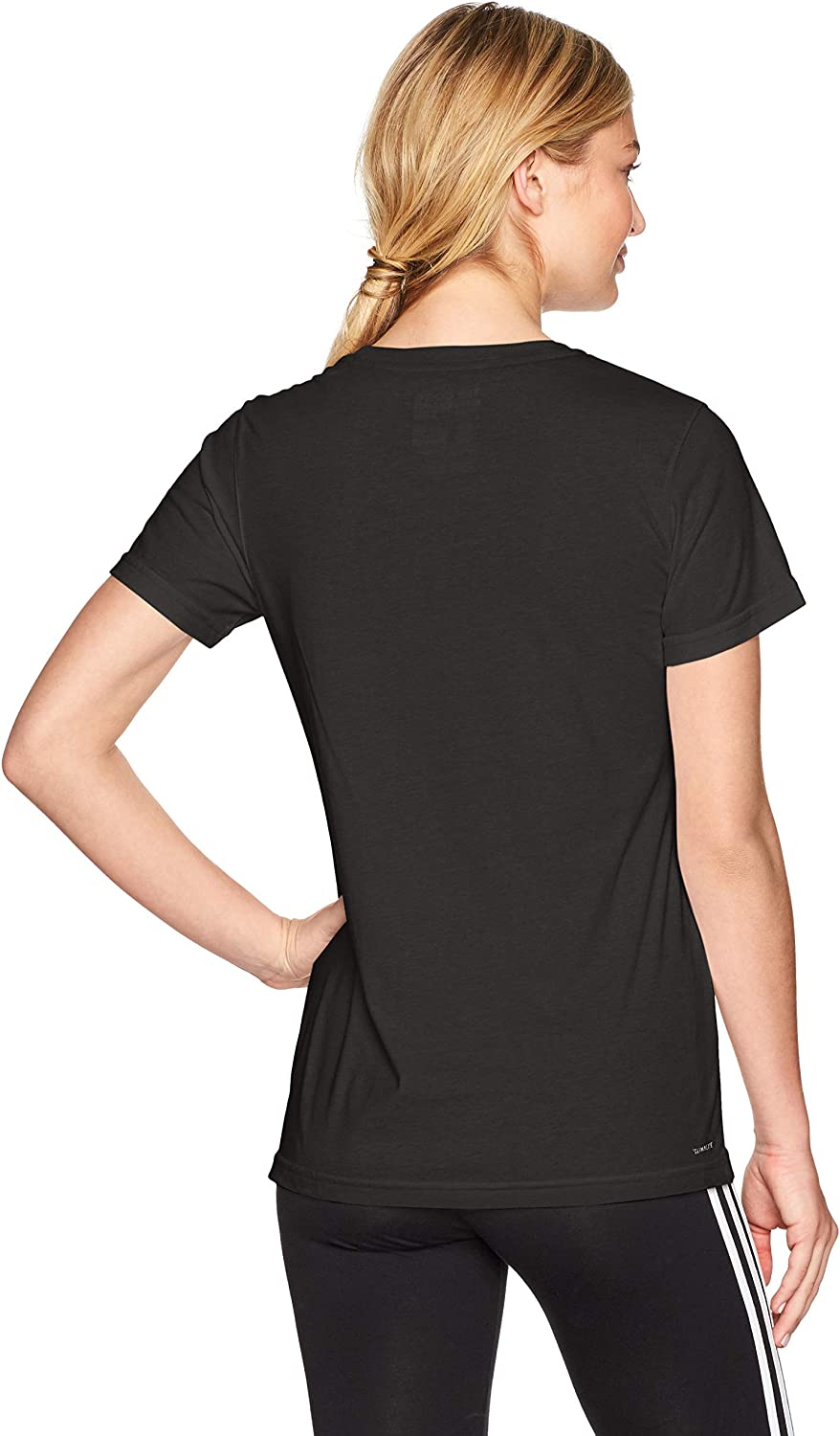 adidas W Bos Co T in Chemise Femme Black/White/Bos Smoothie