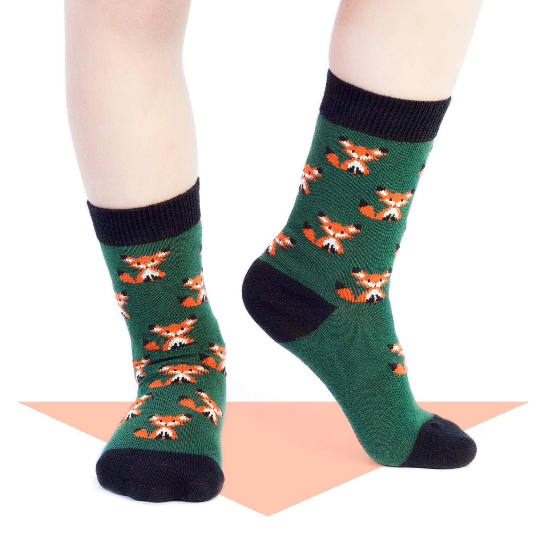 Jimmy Lion Calcetines Zorro Verde Talla 26-30: Amazon.es: Ropa y accesorios