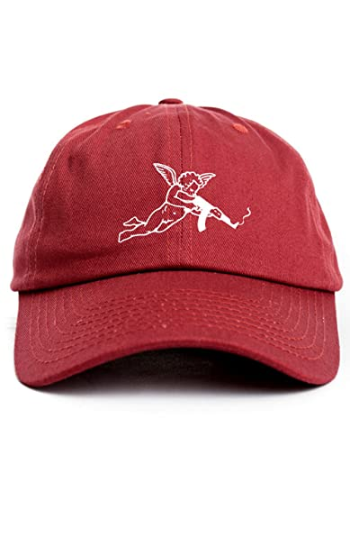 theSTASH Clothing Company Valentine s Day AK 47 Cupid Dad Hat Baseball Cap  Unstructured Adjustable New - Cardinal Red  Amazon.ca  Clothing    Accessories ba6f74615c72