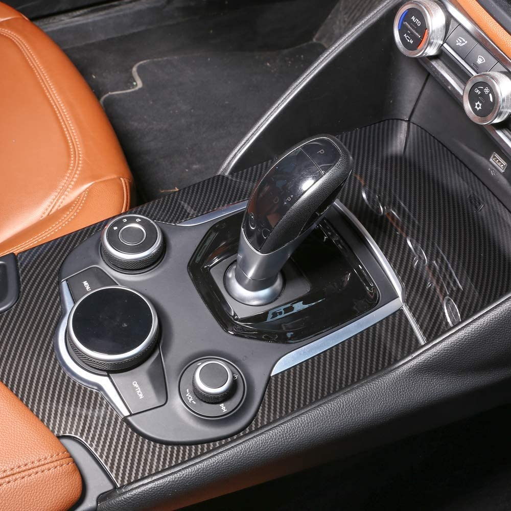 For Alfa Romeo Giulia 17-18 Car Front Door Armrest Storage Box Case Holder 2pcs
