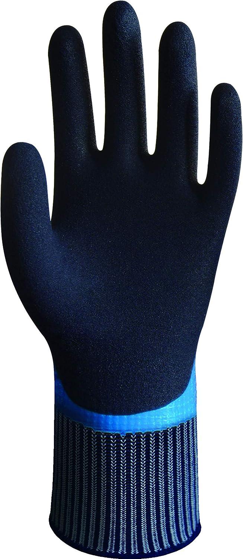 10 blu Wonder Grip WG-318 Aqua guanti impermeabili nero XL