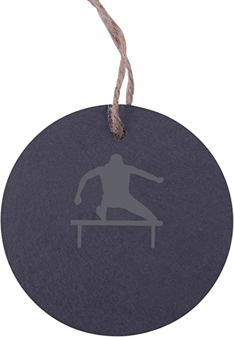 New Slate Hanging Christmas Tree Decorations