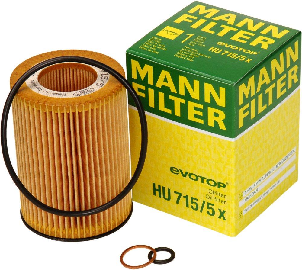 Mann Filter HU7155X Ö lfilter MANN & HUMMEL GMBH HU 715/5 x
