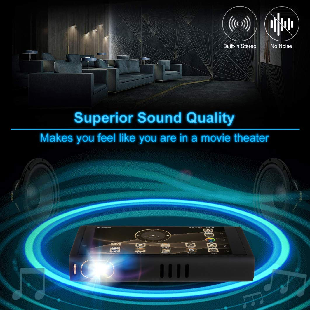 Seojack Portable Mini Smartphone Projectorthe Best And Lp2020a Tripath Classt Hifi Audio Amplifier With Power Supply Unique Movie Video Projector In The Market Cell Phones Accessories