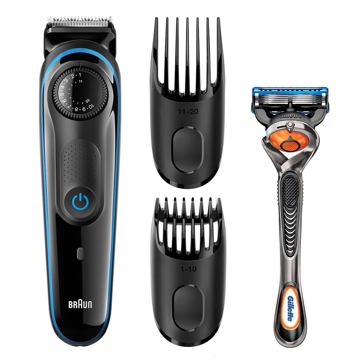 Braun BT3040 Mojado y seco Negro depiladora para la barba - depiladoras para la barba (1 mm, 2 cm, Negro, Integrado, 60 min, 8 h): Amazon.es: Salud y cuidado personal