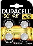 Duracell Batterie al Litio Specialistiche a Bottone, Stilo 2025, Confezione da 4