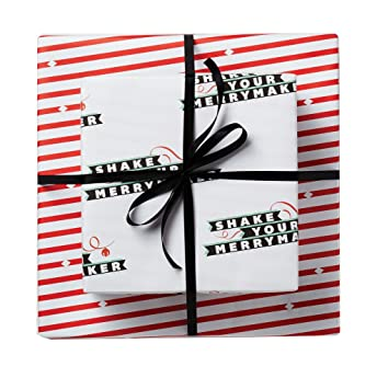 Amazon shake your merry maker funny gift wrapping paper health shake your merry maker funny gift wrapping paper negle Gallery