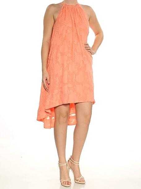02d0a086d6f412 Rachel Roy Jacqueline Cotton High-Low Shift Dress at Amazon Women's  Clothing store: