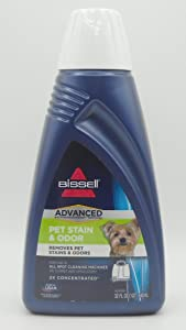 Bissell Advanced Pet Stain And Odor Spot Cleaning Concentrate - 1 Quart