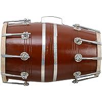 Musikinstrumente 2019 Fashion New Professional Quality Dholak Drum~hand Made Indian~shesham Wood&spl Skin The Latest Fashion Antiquitäten & Kunst