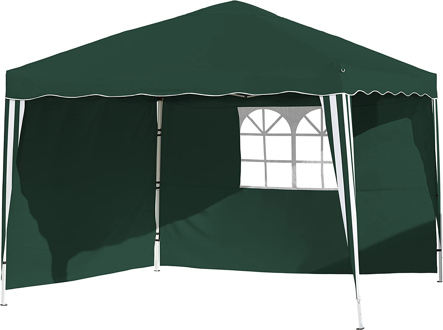 Vanage vg-8453 300 x 300 x 260 cm Gazebo – Verde: Amazon.es: Jardín