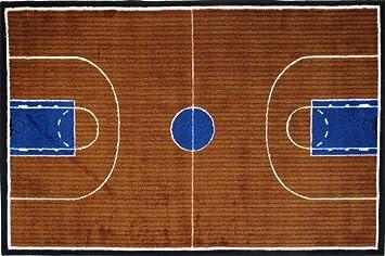 LA Rug Basketball Court Rug 5u00273u0026quot ...
