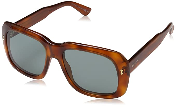 9d22258660 GUCCI Sunglasses 2247 S 0M7A Matte Black Gray 56MM  Amazon.co.uk  Clothing