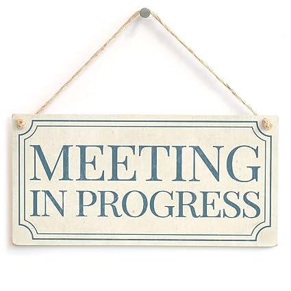 amazon com meeting in progress shabby chic style home accessory