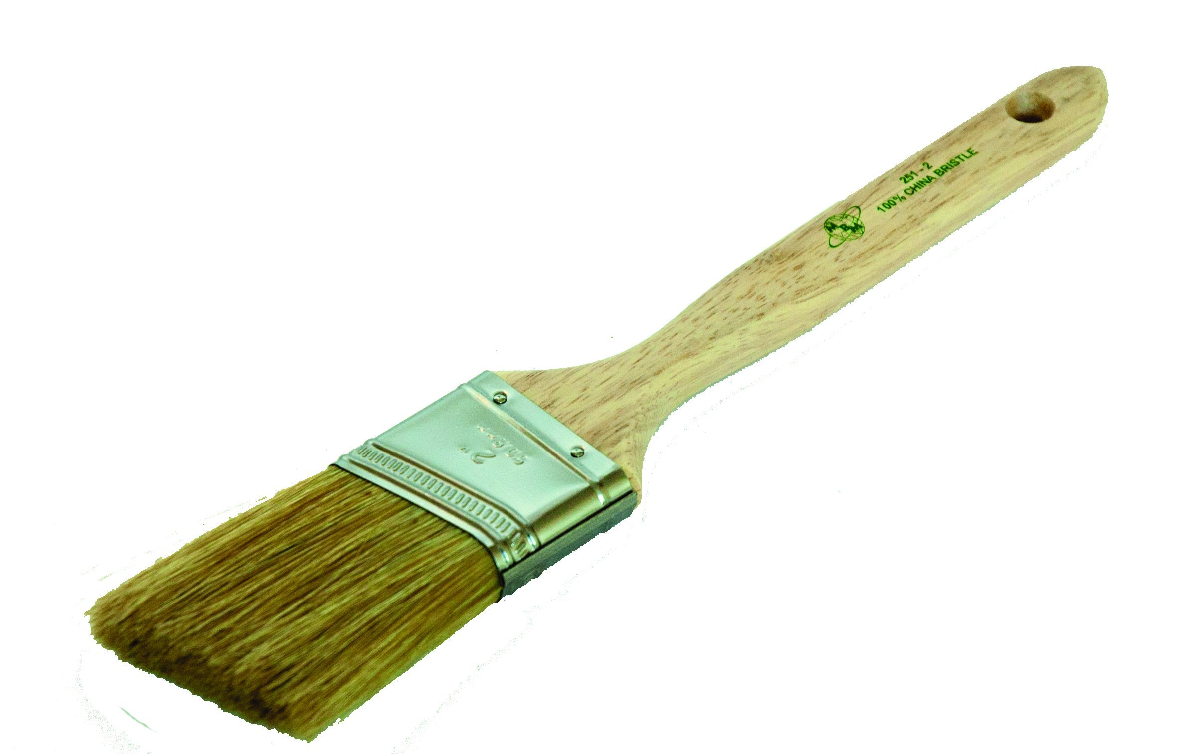 Magnolia Brush 251-3 Angle Sash Paint Brush with Stainless Steel Ferrule, 3'' Bristle Width (Case of 12)