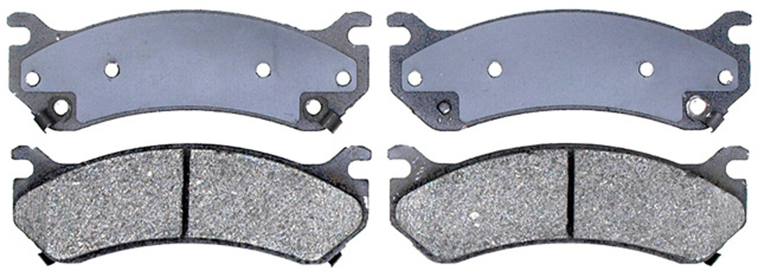 ACDelco 14D785CH Advantage Ceramic Disc Brake Pad Set with Hardware by ACDelco