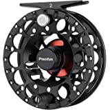 Piscifun Sword ‖ Lighter Weight Fly Fishing Reel with CNC-machined Aluminum Alloy Body 3/4, 5/6, 7/8(Black, Green)