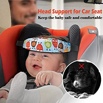 Luckyiren Carseat Pillow For Toddler Baby Head Support Car Seat