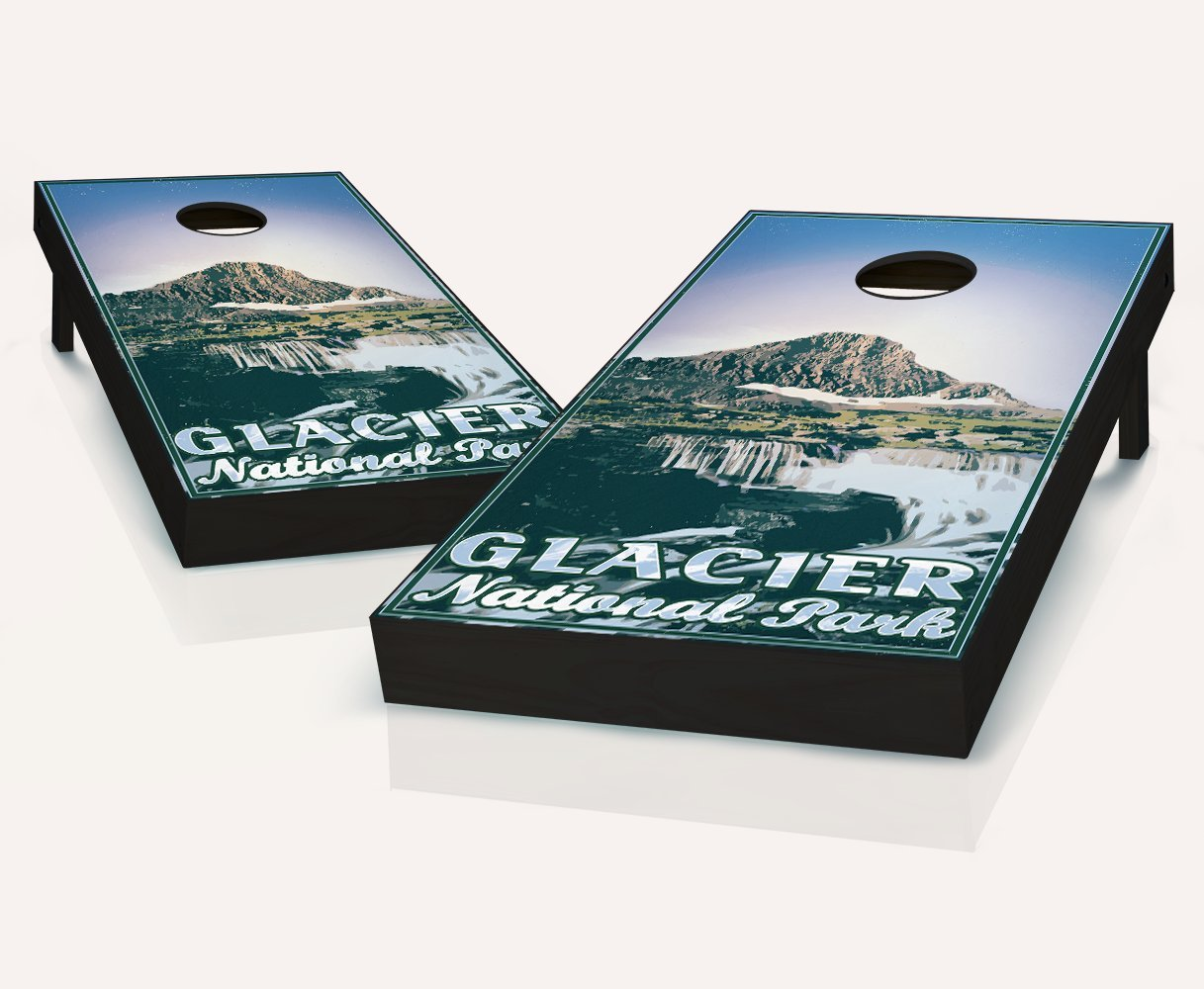 Tailgating Pros Glacier Cornhole Boards withのセット8 Cornhole Bags