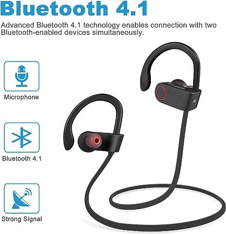 Bestfy - Auriculares Bluetooth 4.1: Amazon.es: Electrónica