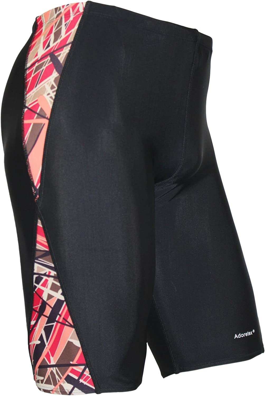 Adoretex Boys & Mens Extra Life Spandex Athletic Jammer Swimsuit Swim Shorts