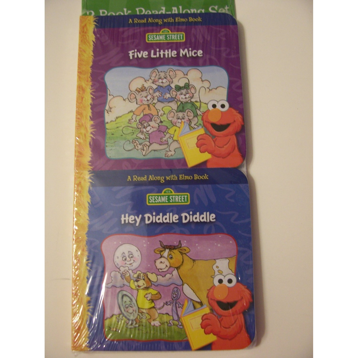 2 Book Read-Along With Elmo ~ Hey Diddle, Diddle & Five Little Mice (Sesame Street) PDF