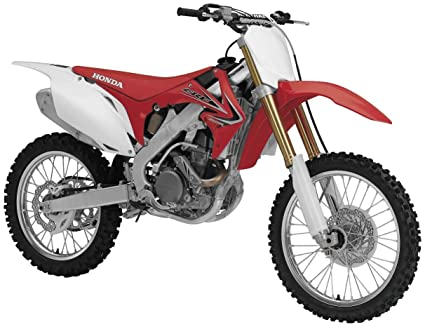 Amazon.com: Honda CRF450R 2008 1:12 scale diecast motorcycle by ...