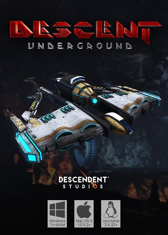 Amazon com: Descent: Underground - SteamVR [Online Game Code
