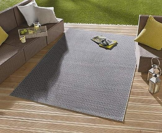 Bavaria Home Style Collection Alfombra/Moderna Alfombra/salón – Alfombra Exterior – para balcón o terraza – para en Y Outdor Adecuado – La Atención a su jardín Muebles: Amazon.es: Hogar