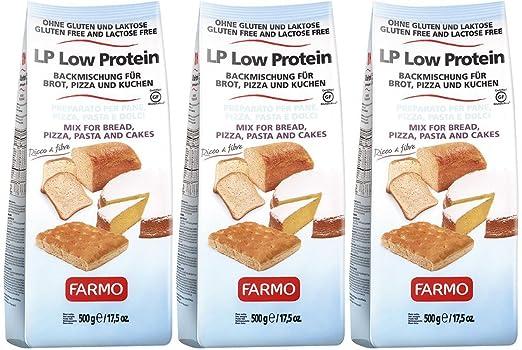 Farmo Lp Low Protein Backmischung Fur Brot Pizza Und Kuchen
