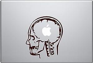 MRI Laptop Apple Silhouette Macbook Symbol Keypad Iphone Apple Ipad Decal Skin Sticker Laptop