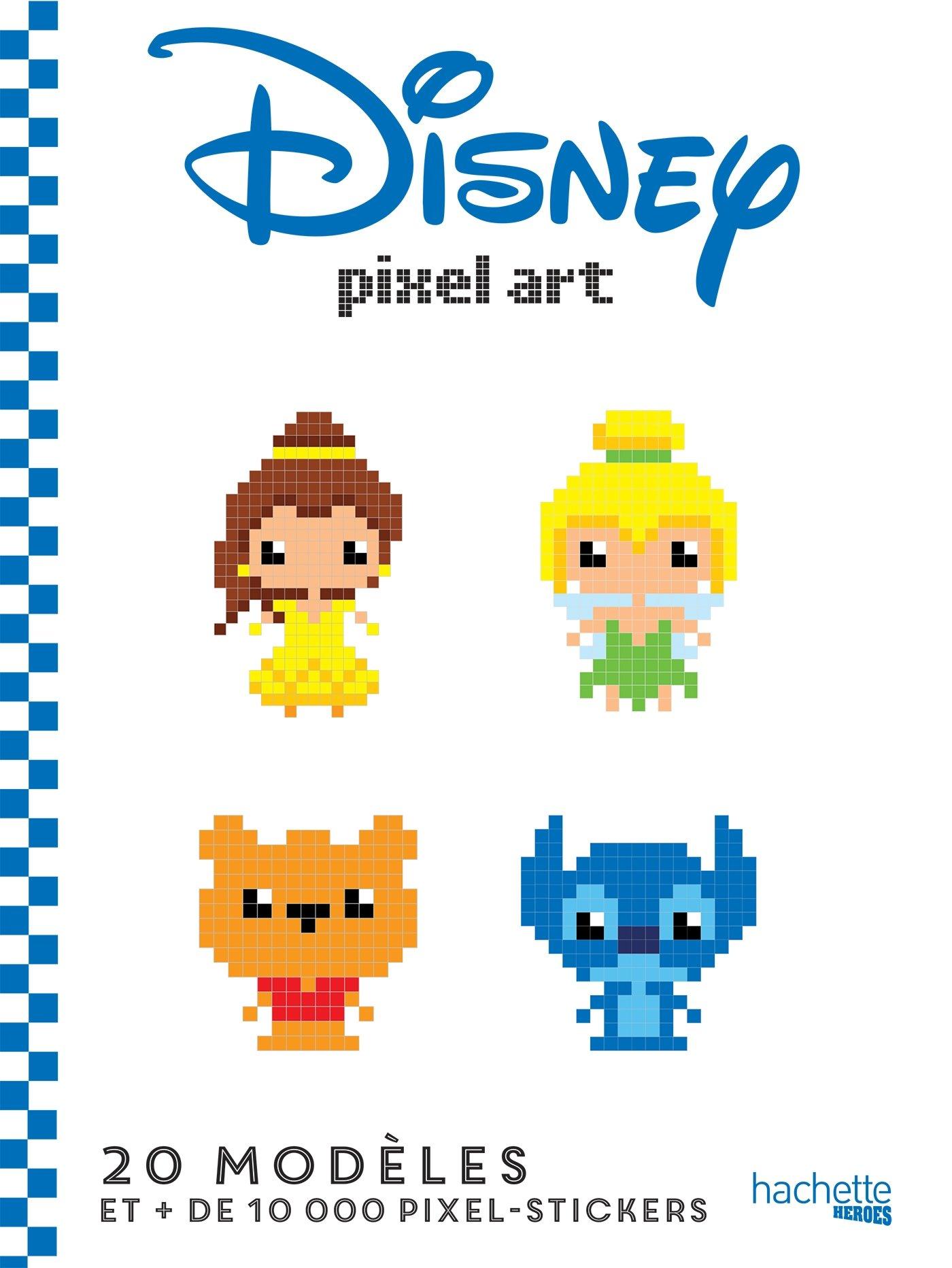 Amazonfr Disney Pixel Art Jérémy Mariez Livres