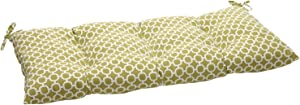 Pillow Perfect Indoor/Outdoor Hockley Green Swing/Bench Cushion