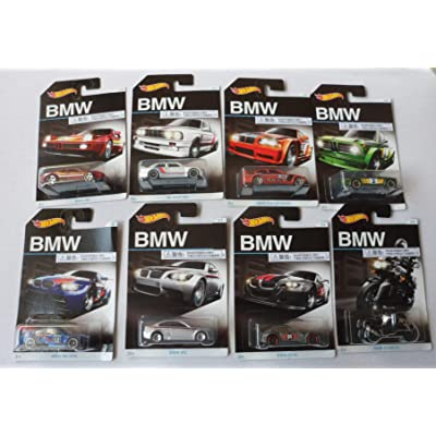 2016 Hot Wheels BMW 100th Anniversary Exclusive Series - Complete Set of 8!: Toys & Games