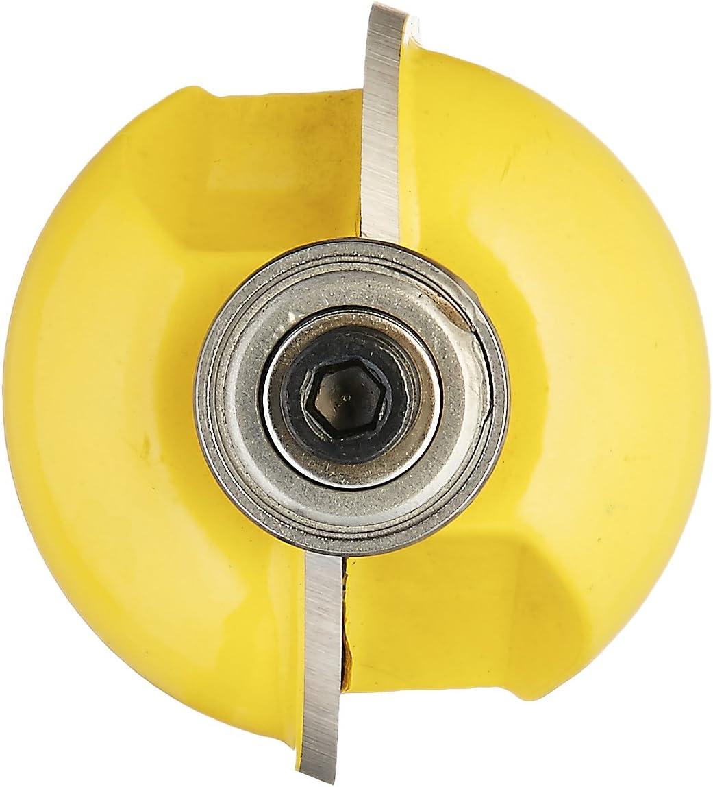 yonico 13154/Cove Einfassung und Formen Router Bit mit 3//8/Zoll RADIUS 1//2/Zoll Schaft