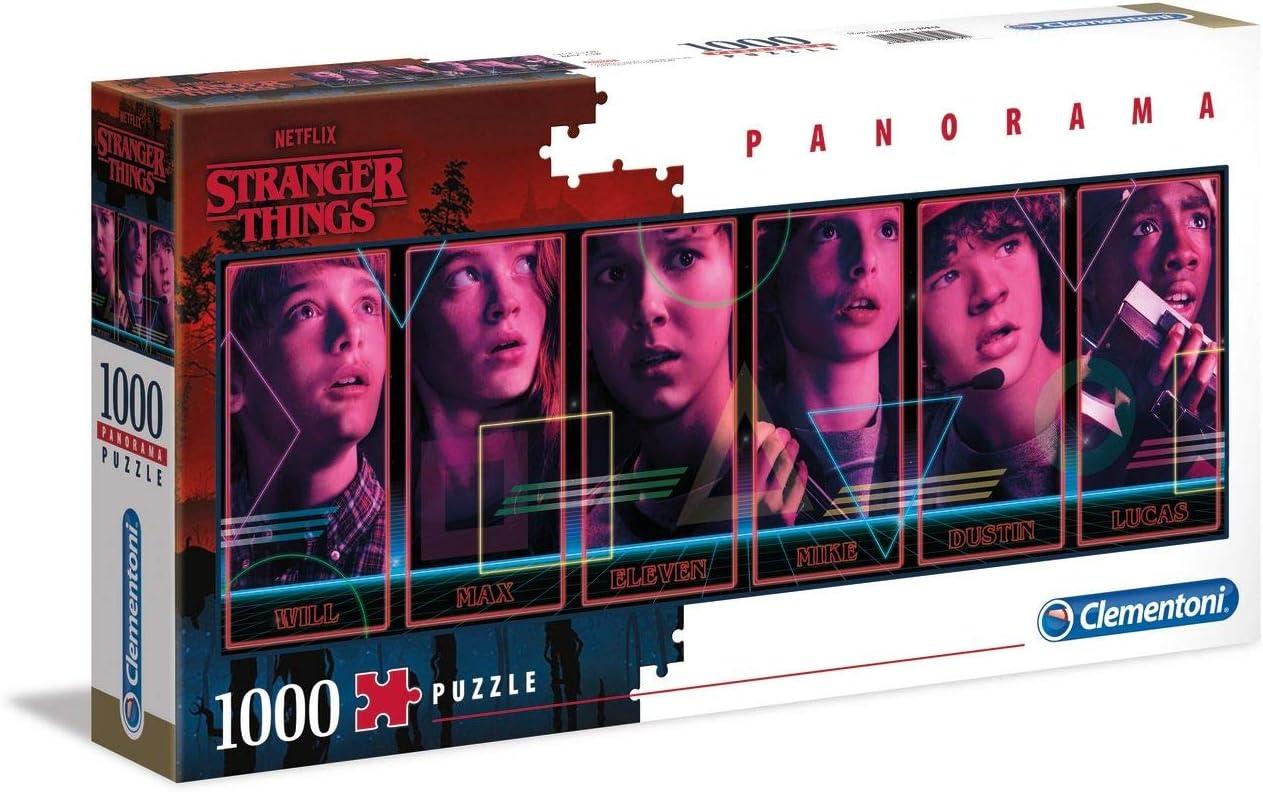 Clementoni Stranger Things Things 1000pc Panorama Puzzle 47% OFF £7.99 @ Amazon