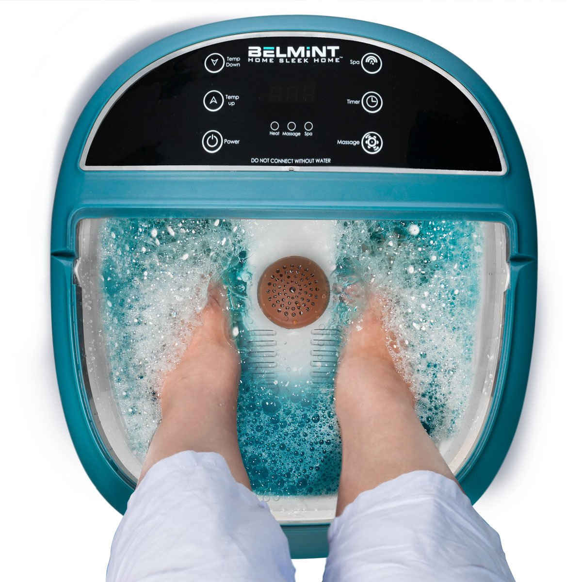 Belmint Foot Spa Massager Machine with Heat Function